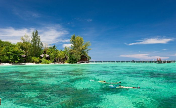 isola di Lankayan Sabah Borneo
