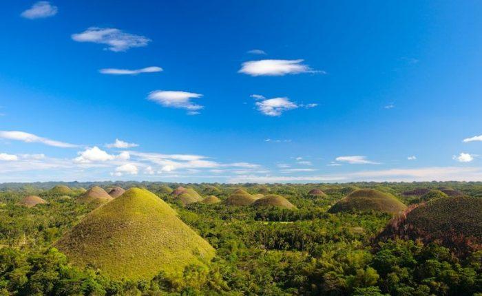Bohol Colline di Cioccolata Filippine