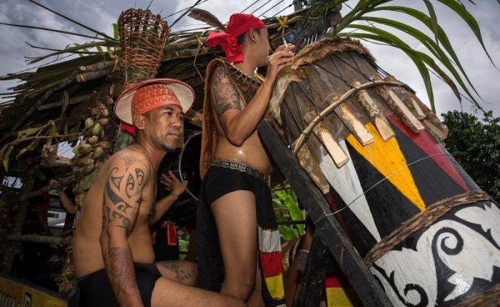 Gli Iban del Sarawak