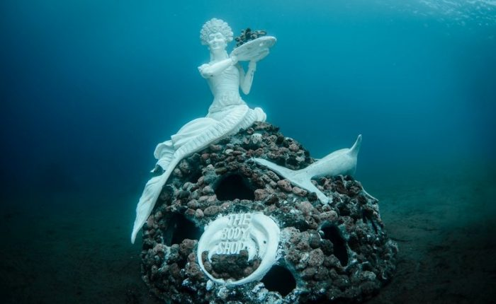 sculture sottomarine a Bali