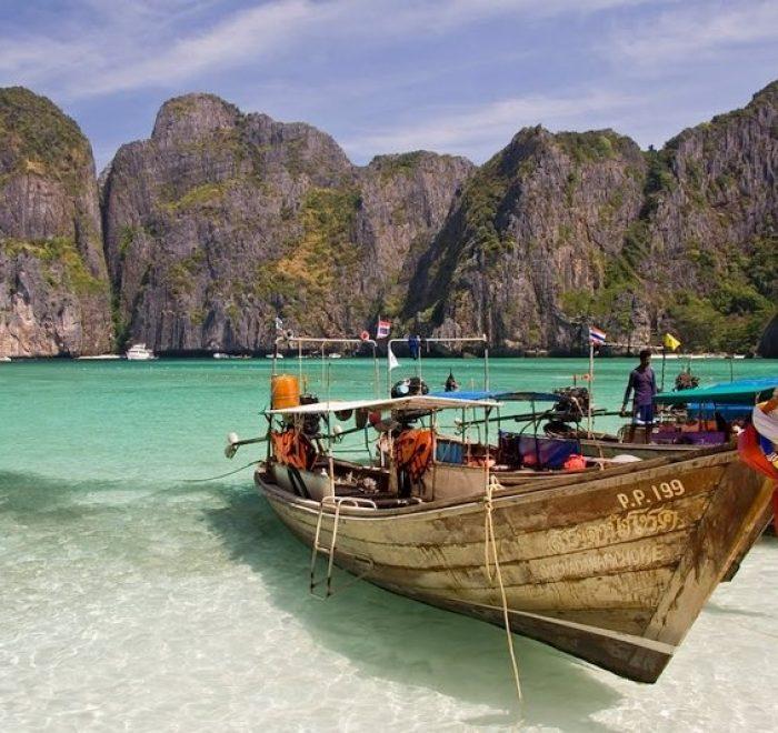 Maya Bay Thailandia - Le 10 spiagge più belle ďAsia