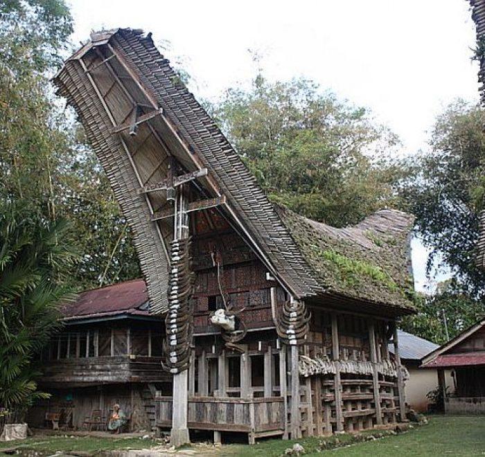 casa tradizionali Tana Toraja Sulawesi