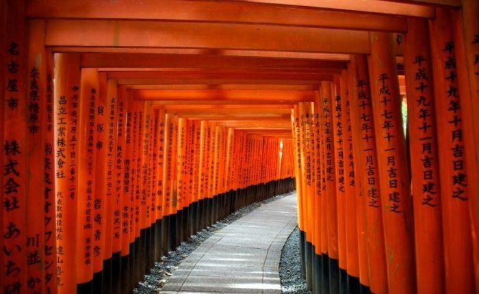 Santuario Fushimi Inari - Kyoto, Giappone - I 10 patrimoni artistici più belli delľAsia
