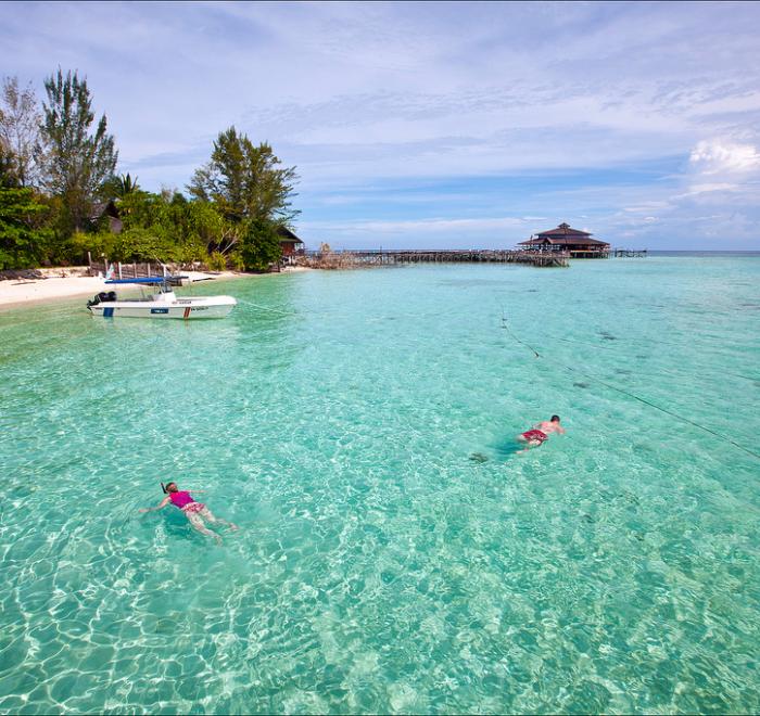 Isola di Lankayan - Le isole più belle del Borneo