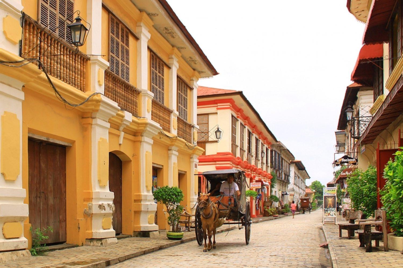 Vigan citta storica filippine