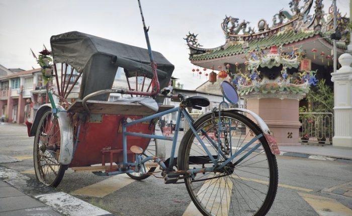 Trishaw tradizionale a Penang