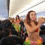 Le assistenti di volo in Bikini